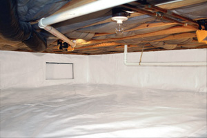 Crawl Space Repair After in Vernon