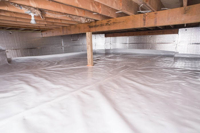 The Cleanspace Crawl Space Vapor Barrier By New Jersey And