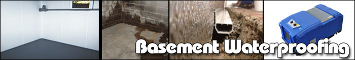 Basement Waterproofing in Sparta, Vernon, Easton