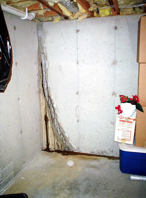 ... Leaky Crack Repair: Leaking Wall Crack Plugged With Hydraulic Cement ·  Ugly Floor Cracks: A Basement With Foaming Water ...
