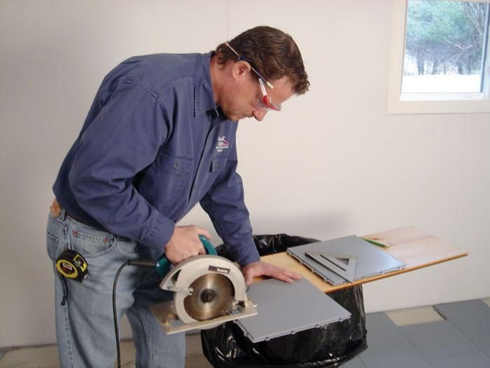 Basement Sub Floor Matting Options In New Jersey And Pennsylvania - Dry barrier subfloor