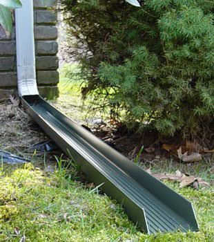 Gutter downspout extension installed in Mount Pocono