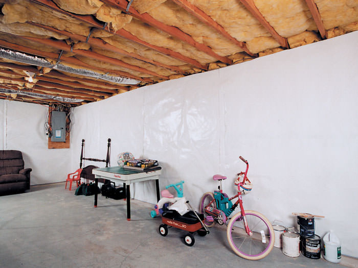 cleanspace basement wall vapor barrier upgrade your basement walls